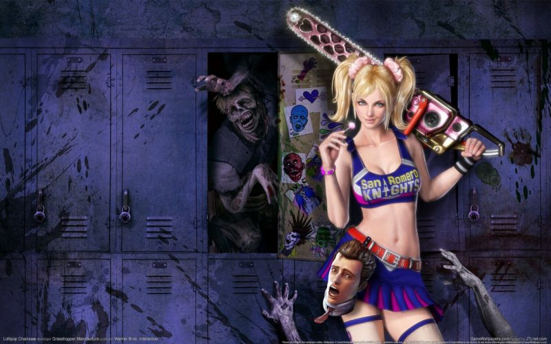 Lollipop Chainsaw wallpaper