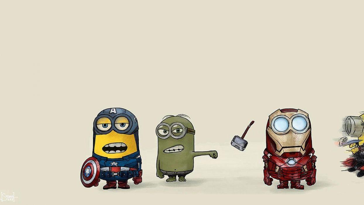 Despicable Avengers wallpaper