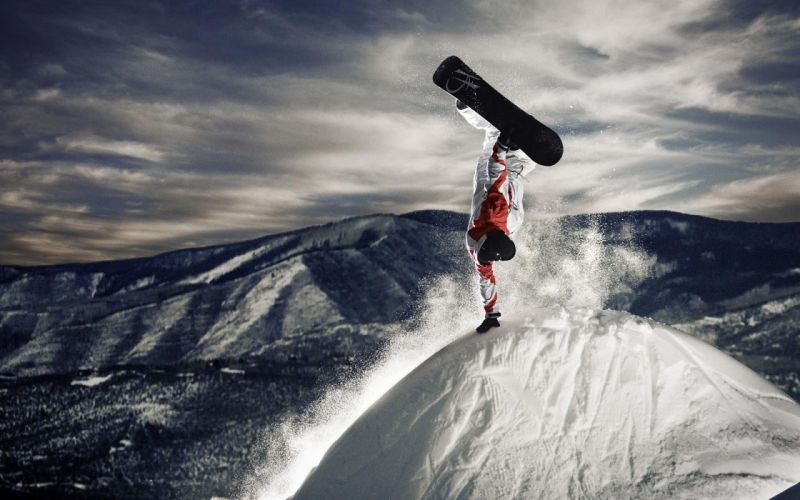 Snowboarding1 wallpaper