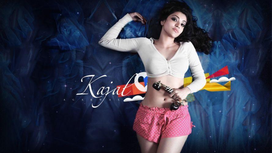 Kajal Agarwal Fhm wallpaper