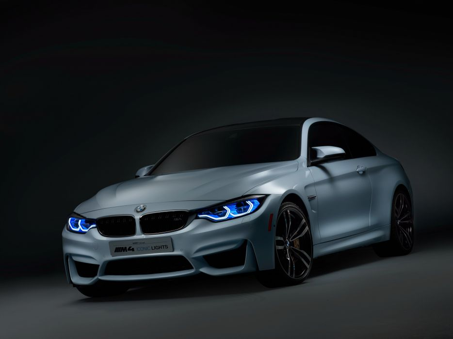 2015 BMW Concept M-4 Iconic Lights F82 tuning electric wallpaper