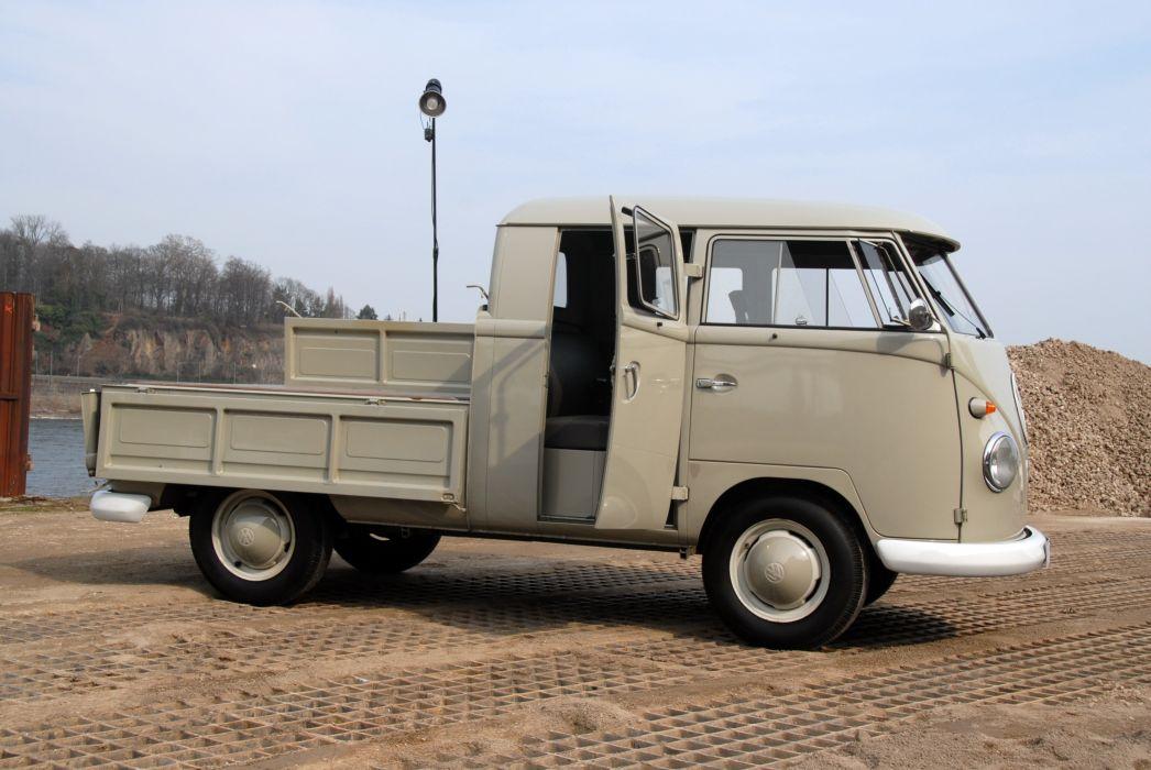 1960 Volkswagen T-1 Doppelkabine pickup classic wallpaper