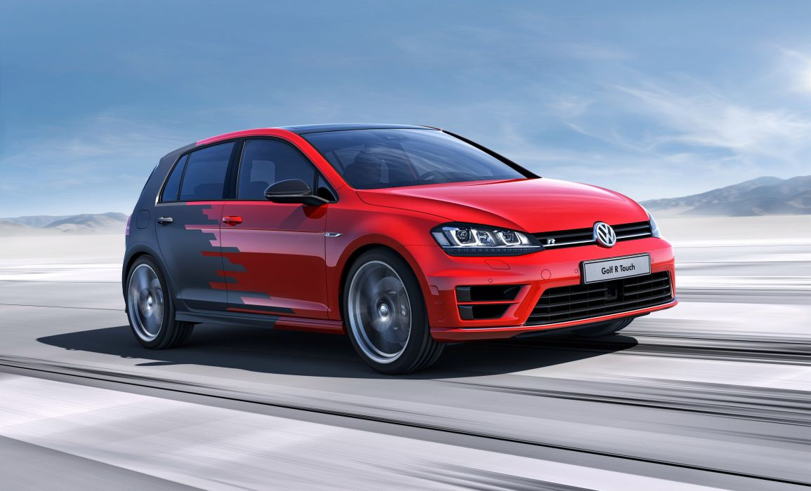 2015 Volkswagen Golf R Touch electric wallpaper