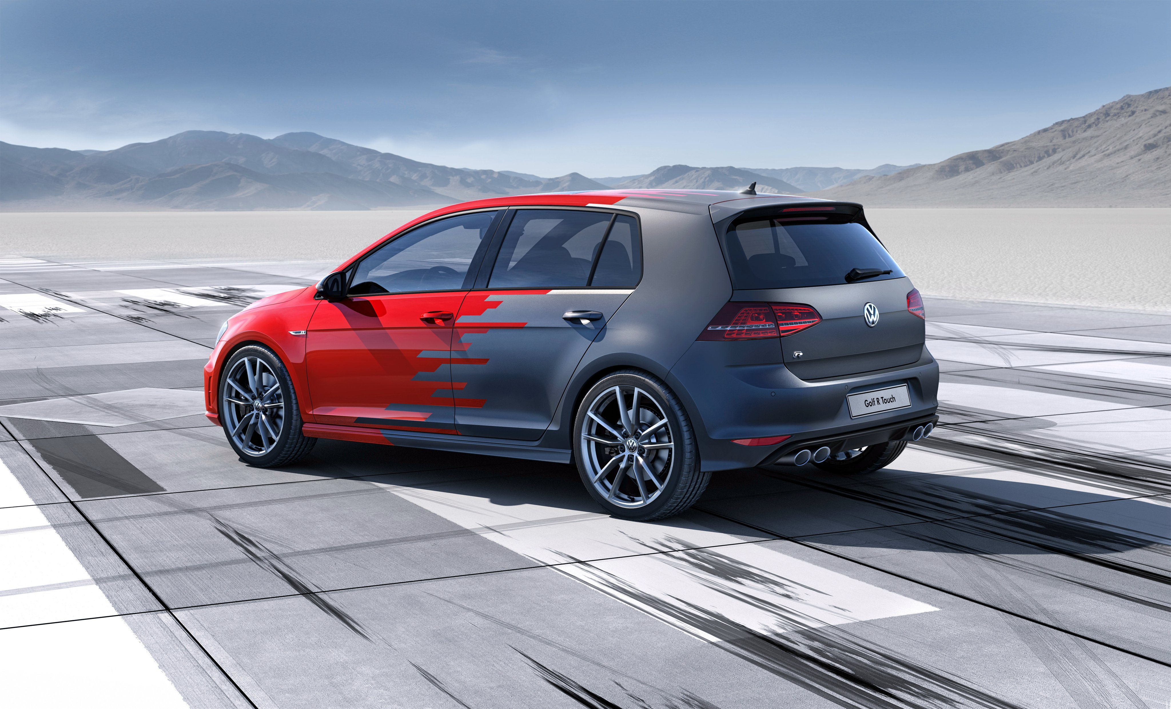 2015 Volkswagen Golf R Touch electric wallpaper | 4096x2482 | 582999 | WallpaperUP