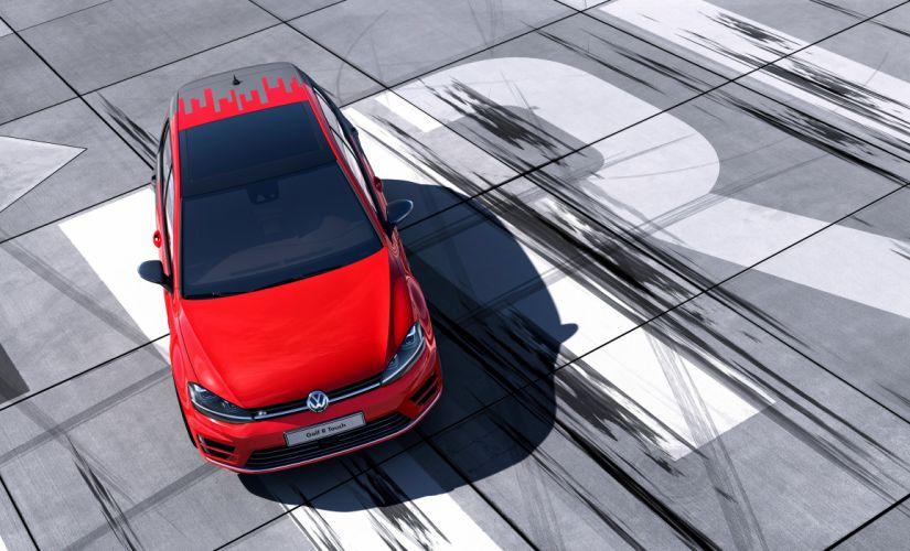 2015 Volkswagen Golf R Touch electric wallpaper