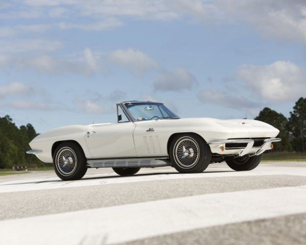 1965 Chevrolet Corvette StingRay L78 396 425HP Convertible c-2 muscle supercar classic sting ray wallpaper