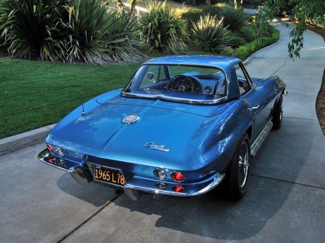 1965 Chevrolet Corvette StingRay L78 396 425HP Convertible c-2 muscle supercar classic sting ray wallpaper
