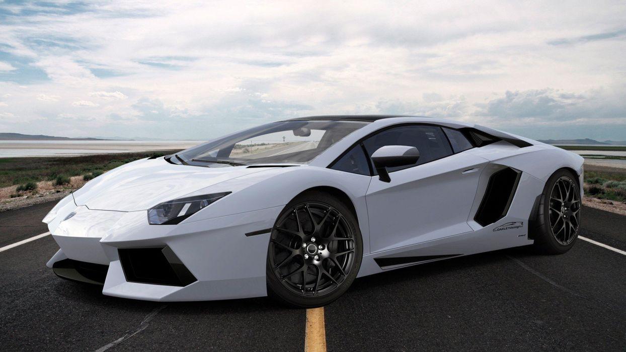 Lamborghini Aventador White wallpaper