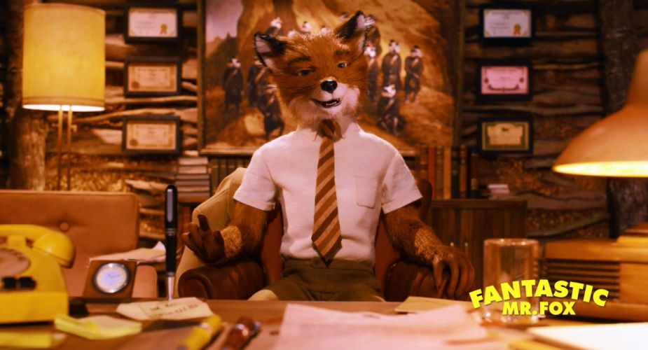 FANTASTIC MR FOX animation comedy family adventure 1mrfox foxes wallpaper