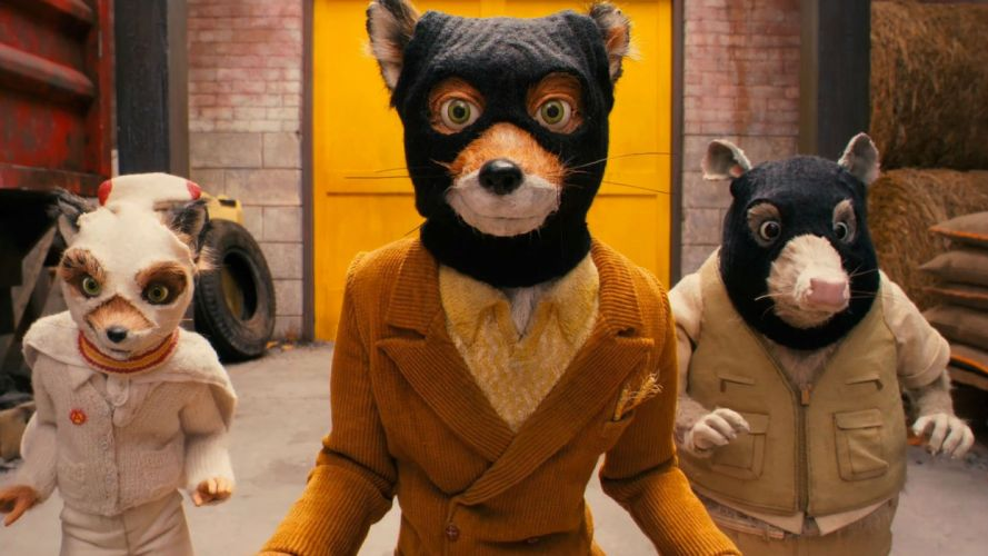 FANTASTIC MR FOX animation comedy family adventure 1mrfox foxes wallpaper