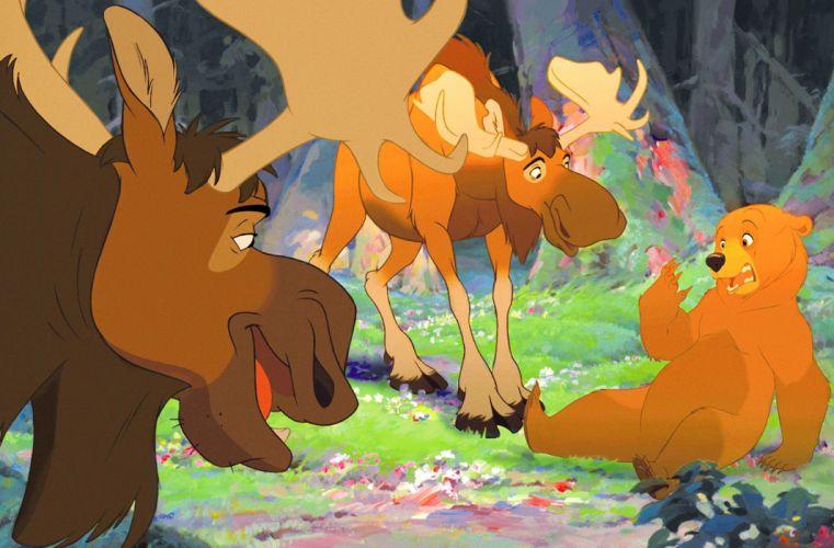 BROTHER BEAR disney family animation adventure comedy 1brotherbear wallpaper