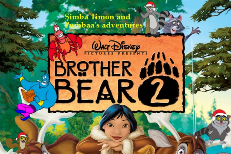 BROTHER BEAR disney family animation adventure comedy 1brotherbear wallpaper