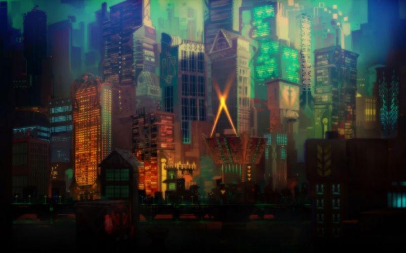 cityscapes artwork wallpaper