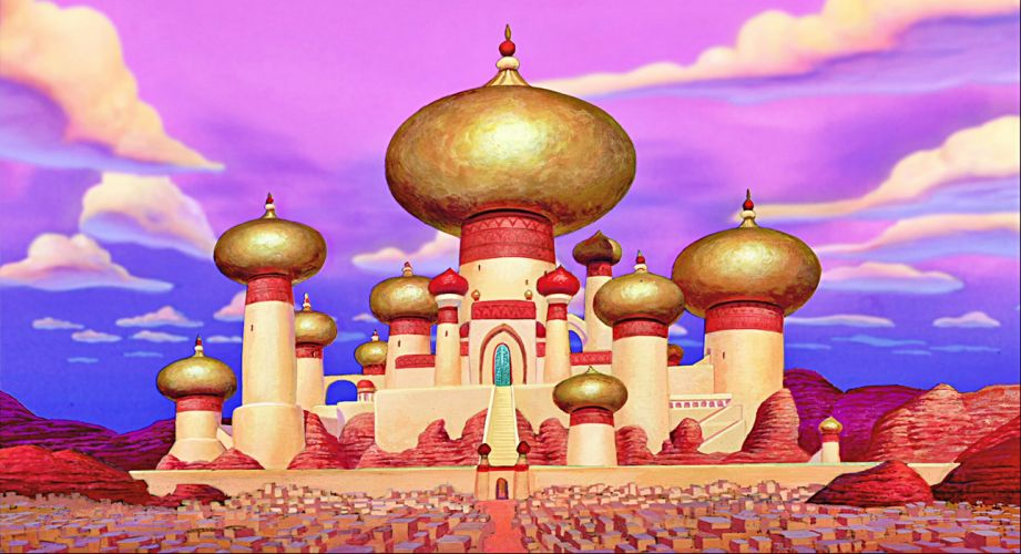 ALADDIN disney comedy animation adventure wallpaper