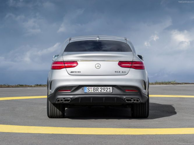 Mercedes Benz GLE63 AMG Coupe 2016 suv cars wallpaper