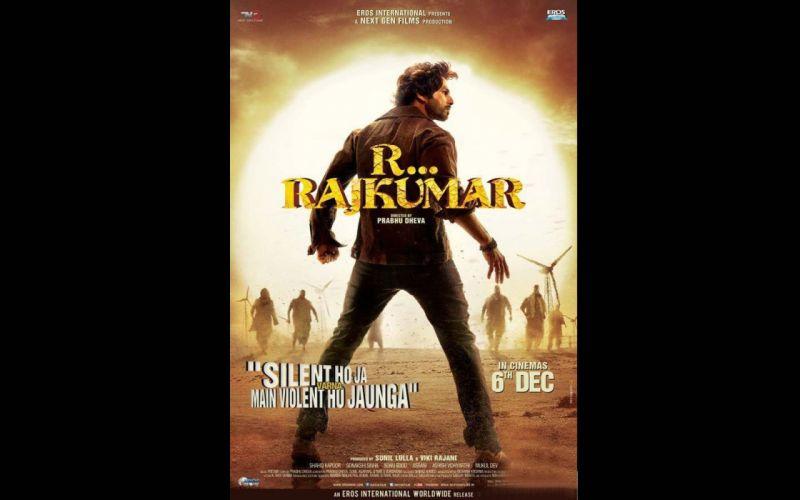R RAJKUMAR bollywood action comedy romance 1rajkumar wallpaper