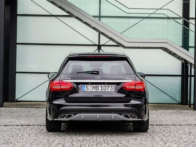 Mercedes Benz C450 AMG 4Matic Estate wagon cars germany wallpaper