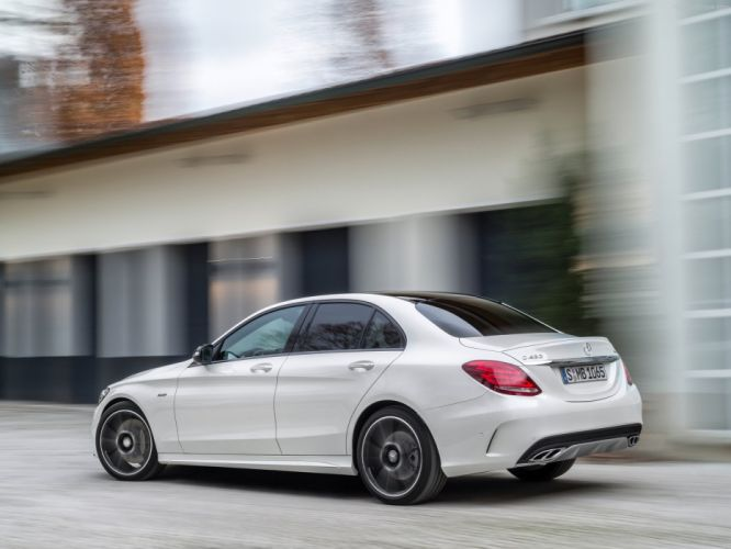 Mercedes Benz C450 AMG 4Matic cars germany wallpaper
