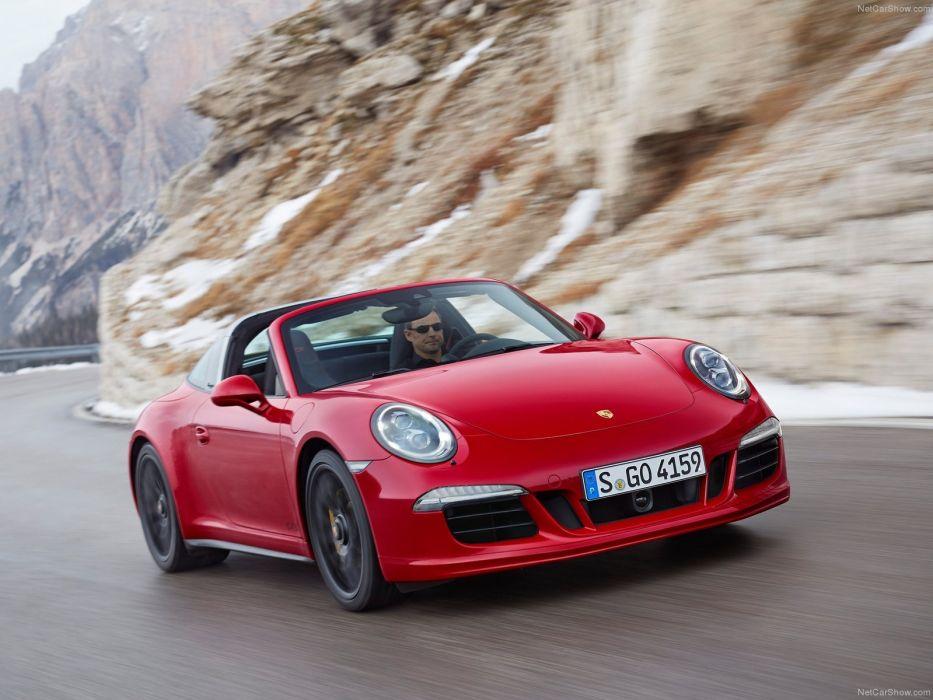 2016 Porsche 911 Targa 4 GTS cars wallpaper
