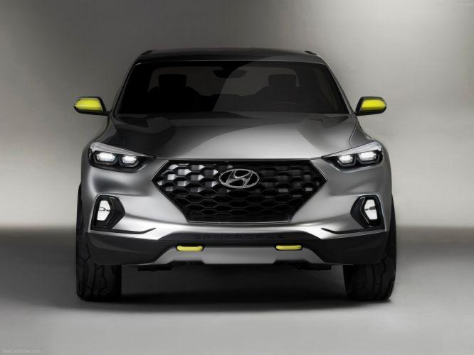 2015 Hyundai Santa Cruz Crossover suv Truck Concept 2015 cars wallpaper