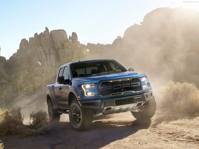Ford F-150 Raptor 2017 truck pickup cars wallpaper