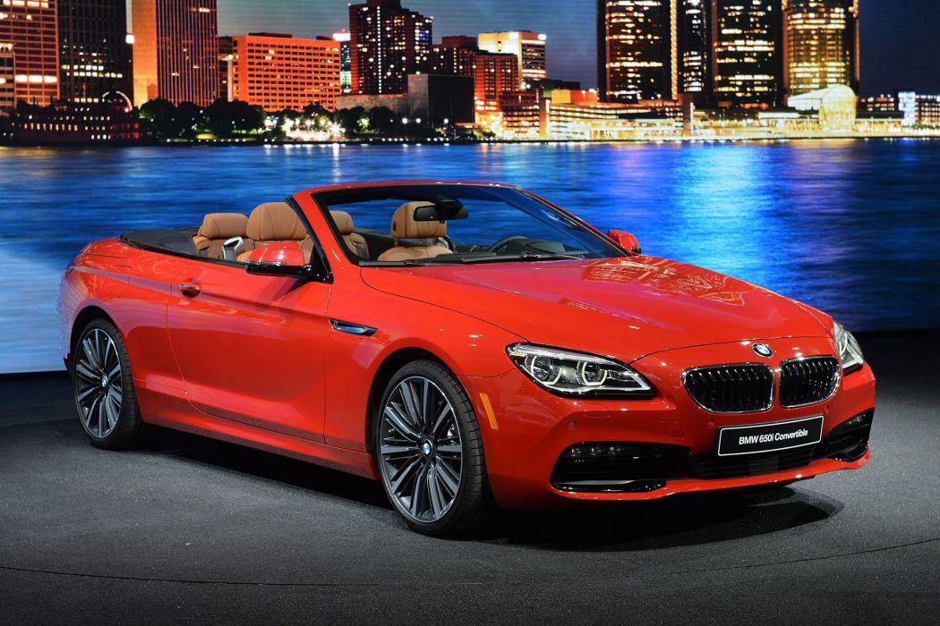 BMW 6 Series sports convertible 2015 650i cars wallpaper
