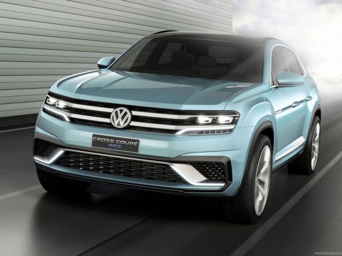 Volkswagen Cross Coupe GTE Concept cars 2015 wallpaper