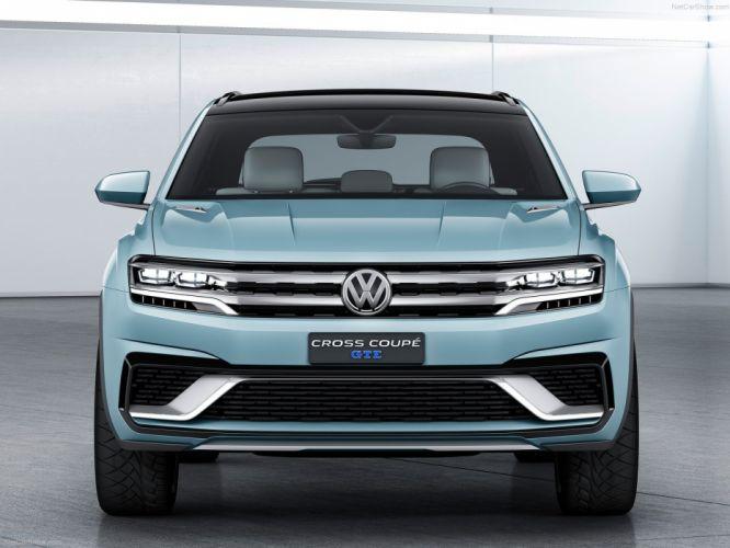 Volkswagen Cross Coupe GTE Concept cars 2015 wallpaper
