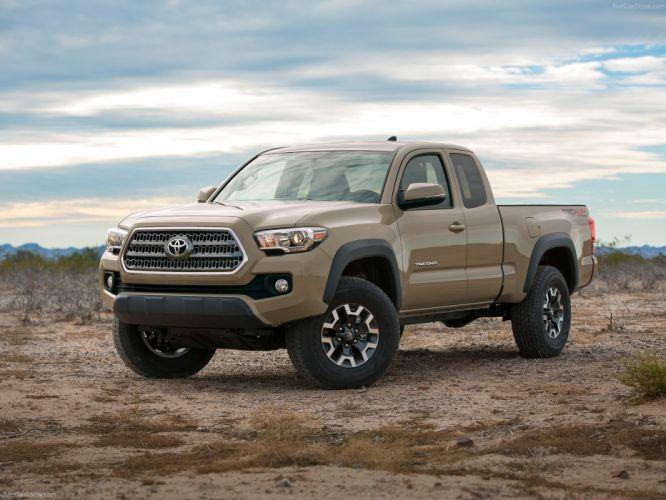 Toyota Tacoma TRD Off-Road 2016 truck pickup cars wallpaper
