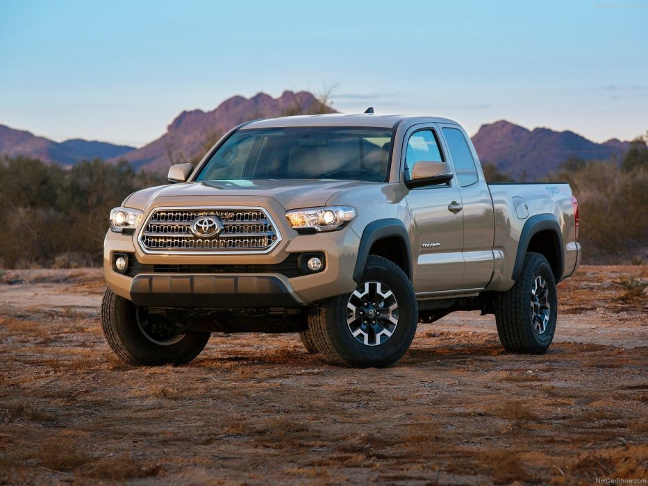 Toyota Tacoma TRD Off-Road 2016 truck pickup cars wallpaper
