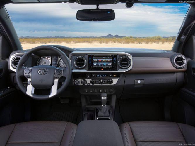Toyota Tacoma 2016 truck pickup cars wallpaper