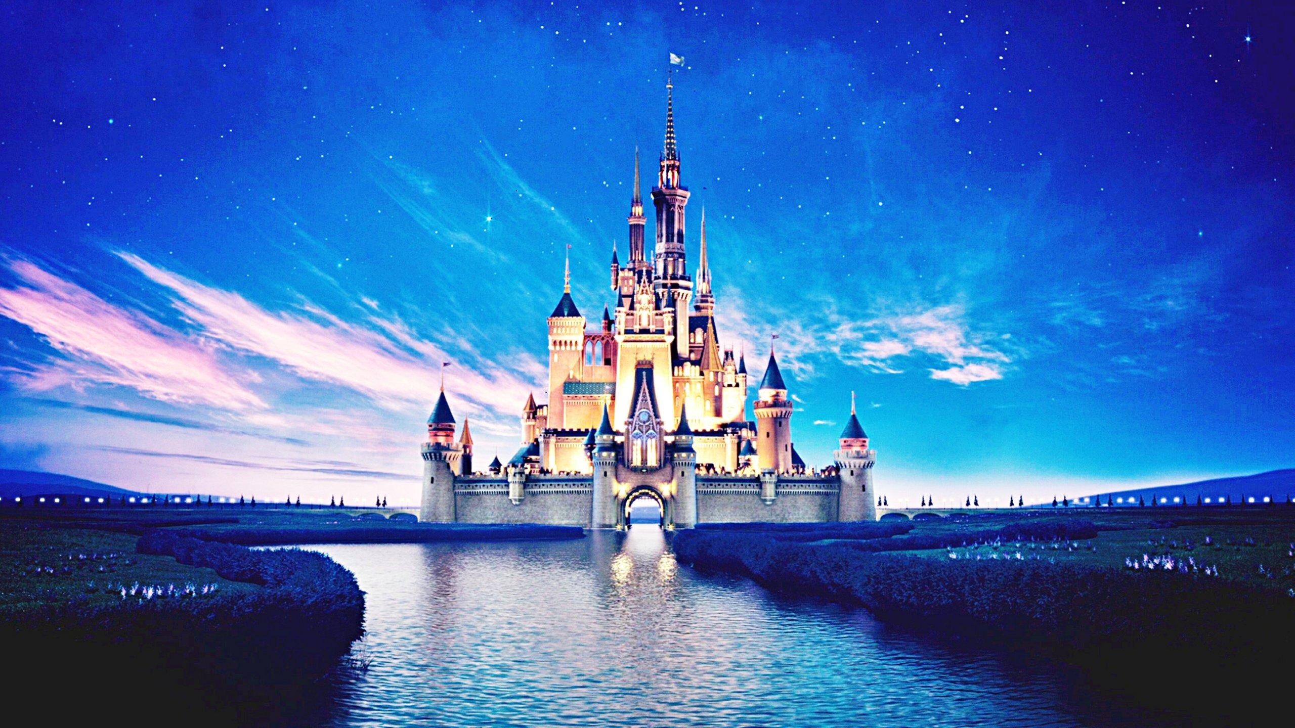 Disney Castle wallpaper | 2560x1440 | 584206 | WallpaperUP