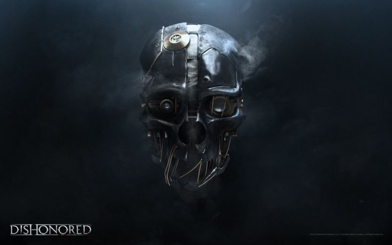 Dishonored Mask wallpaper