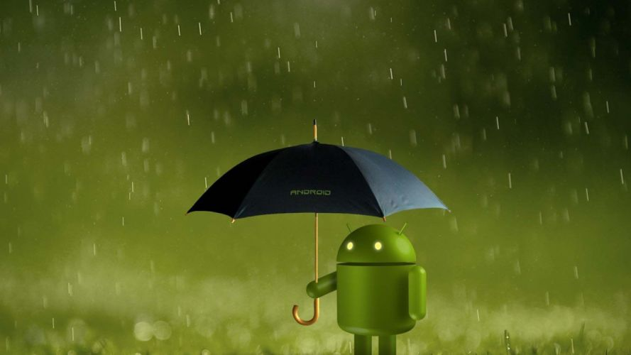 Robot Android wallpaper