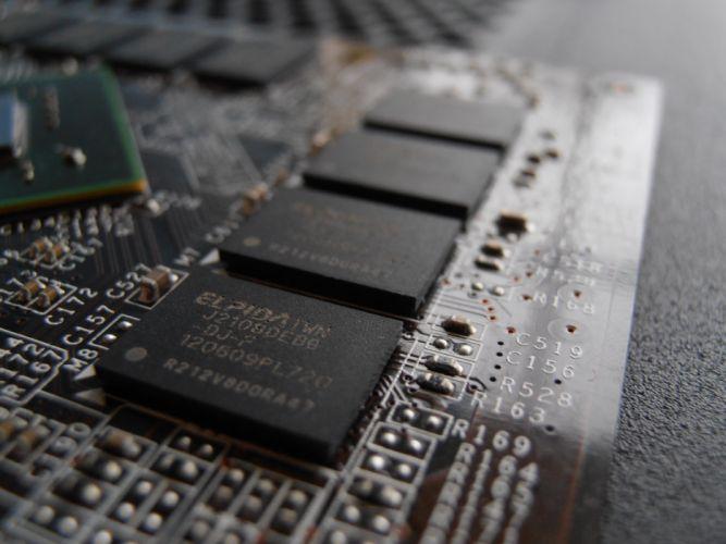 Nvidia GT610 Ram modules wallpaper