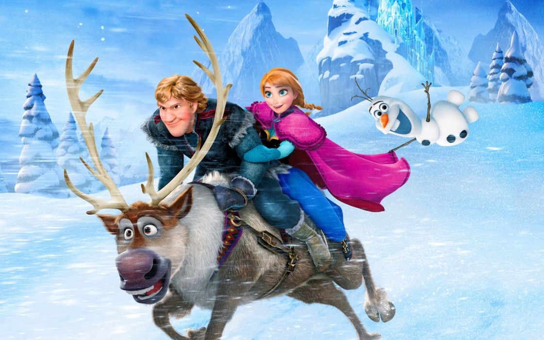 FROZEN animation adventure comedy family musical fantasy disney 1frozen wallpaper