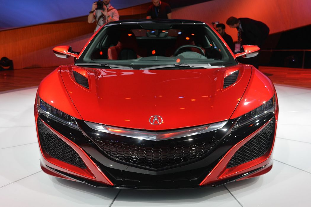 2016 acura cars Coupe nsx red supercars wallpaper