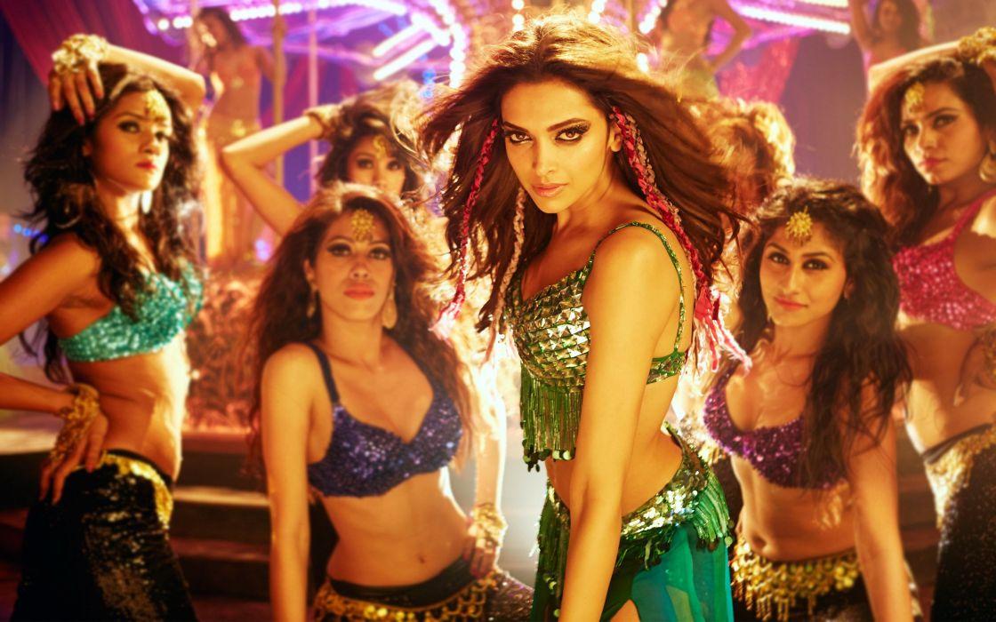 Indian Actress Deepika Padukone Happy New Year movie girls beauty wallpaper