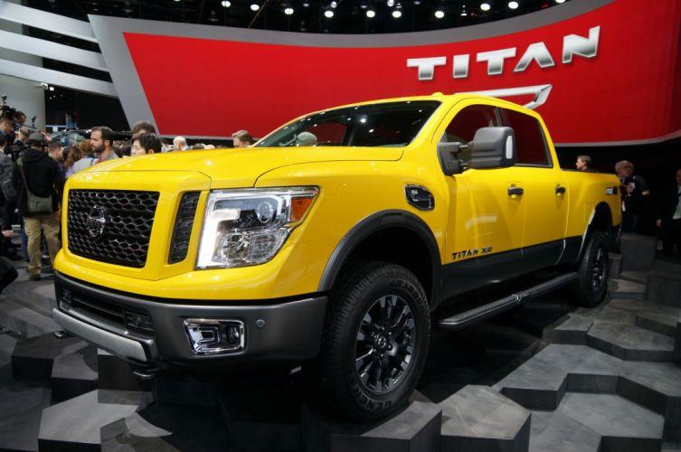 2016 Nissan Titan XD pickup truck cars wallpaper