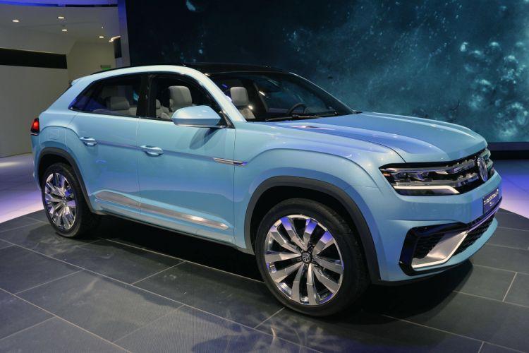 2015 cars Concept Coupe cross gte volkswagen wallpaper