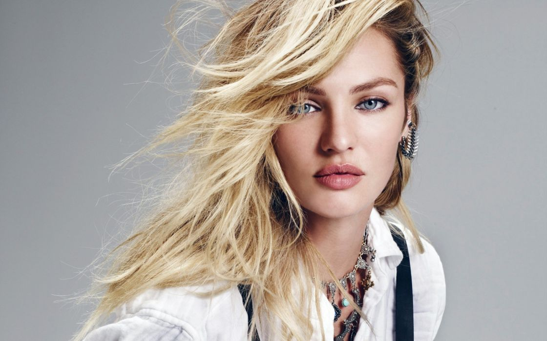 model candice swanepoel blonde girl fashion wallpaper