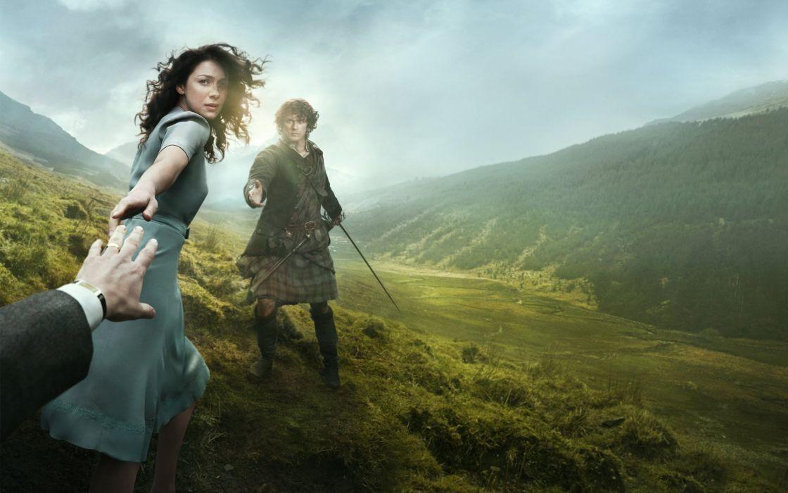 Outlander 2014 TV Series wallpaper