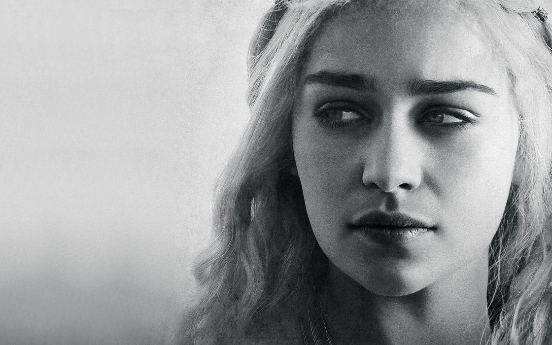 Daenerys Targaryen Emilia Clarke wallpaper