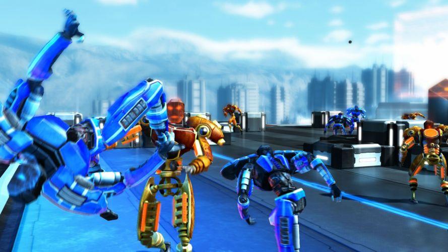 FROZEN ENDZONE Cortex strategy tactical action fighting robot mecha sci-fi futuristic warrior 1endzone football wallpaper
