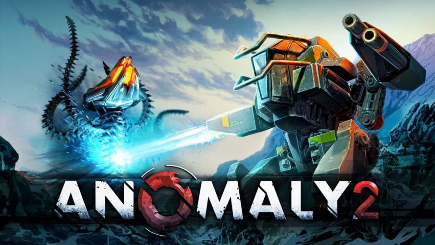 ANOMALY sci-fi action strategy tactical tower fighting futuristic 1anomaly poster battle mecha robot wallpaper