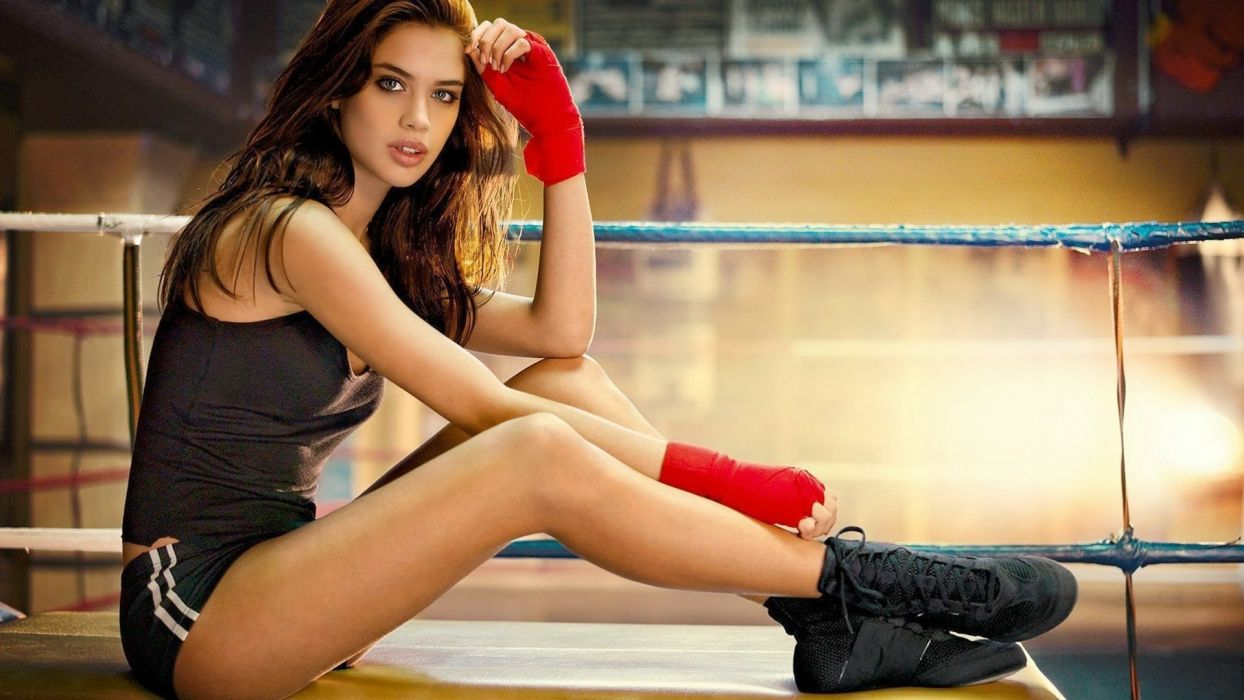 SPORTS - sara sampaio girl fitness gym wallpaper