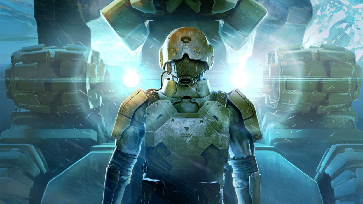 ANOMALY sci-fi action strategy tactical tower fighting futuristic 1anomaly robot warrior wallpaper
