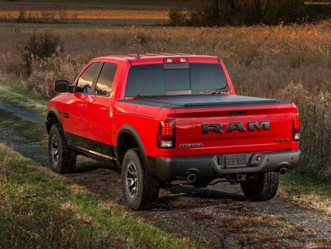 Ram 1500 Rebel 2015 pickup truck cars wallpaper