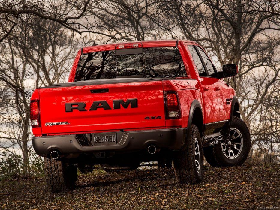 Ram 1500 Rebel 2015 Pickup Truck Cars Wallpaper 1600x1200 584723