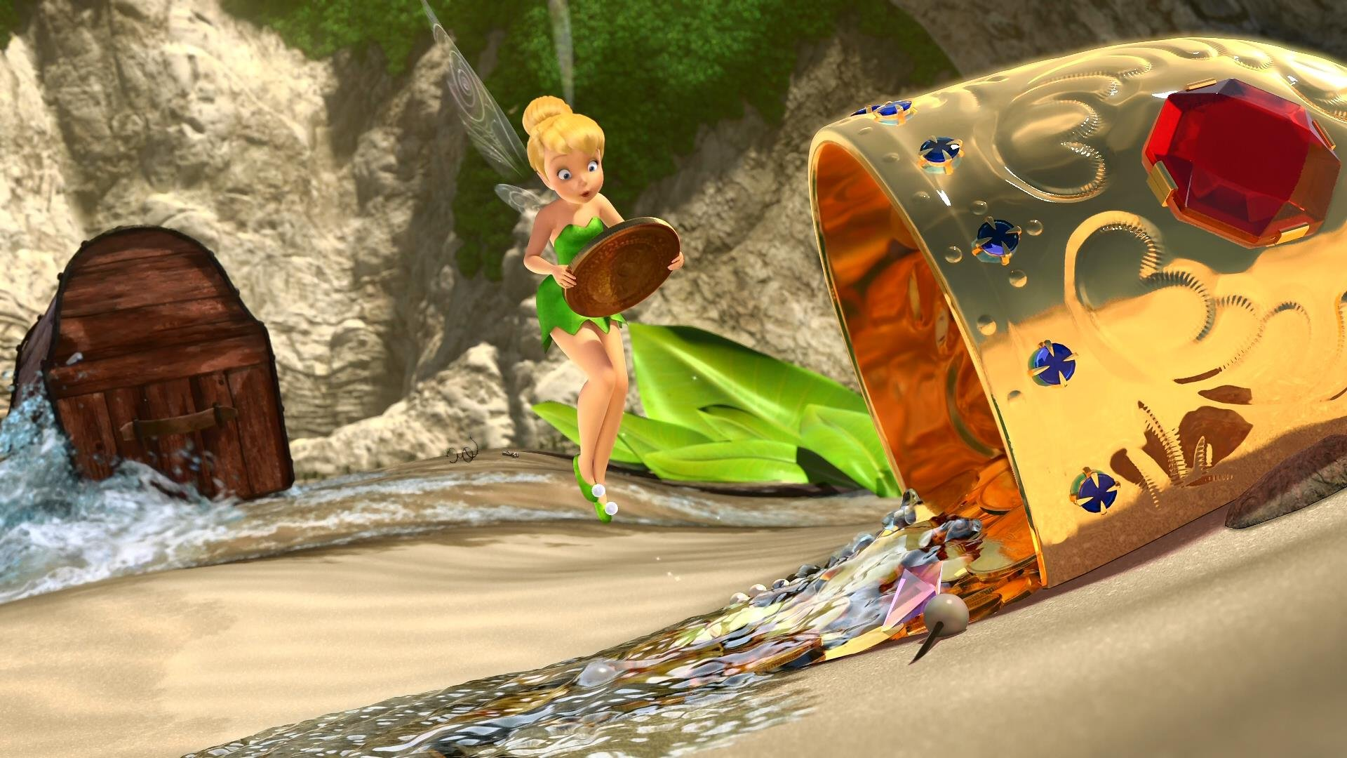 Tinkerbell and the pirate fairy porn naked videos